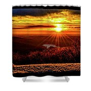 New  Day  Dawns Shower Curtain