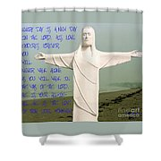 New Day In The Lord Shower Curtain