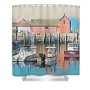 Rockport, Massachusetts Shower Curtain