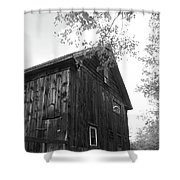 New England Fall Love Shower Curtain