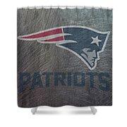 New England Patriots Translucent Steel Shower Curtain