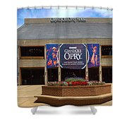 New Grand Ole Opry House Shower Curtain