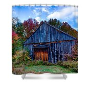 New Hampshire Barn Eaton Nh Shower Curtain