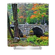 New Hampshire Bridge Shower Curtain