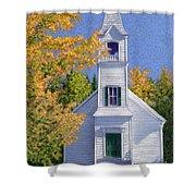 New Hampshire Church Shower Curtain
