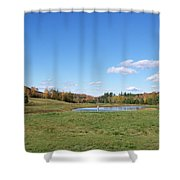 New Hampshire In The Fall 2 Shower Curtain
