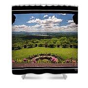 New Hampshire Lakes Region Shower Curtain