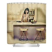 New Haven - Asian American Series Shower Curtain