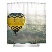 New Heights  Shower Curtain