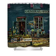 New Hope General Store Shower Curtain