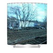 New Jersey From The Train 4 Shower Curtain