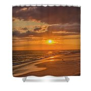 New Jersey Has The Best Sunsets - Cape May Shower Curtain