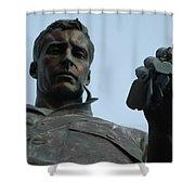 New Jersey Korean War Memorial  Shower Curtain