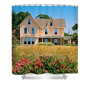 New Jersey Landscape Shower Curtain