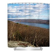 New Jersey Mountaintop View Shower Curtain