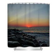 New Jersey Shore - Townsends Inlet Shower Curtain