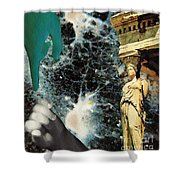 New Life In Ancient Time-space Shower Curtain