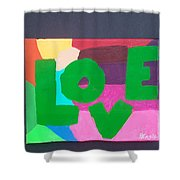 New Love Generation Shower Curtain