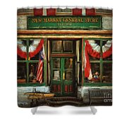 New Market General Store Shower Curtain