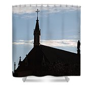 New Mexican Church Shower Curtain