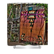 New Mexico Blanket Shower Curtain