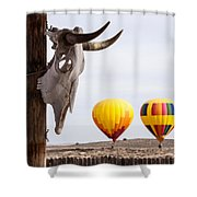 New Mexico Morning Shower Curtain
