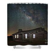 New Mexico Night Sky Shower Curtain