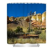New Mexico Ranch Shower Curtain