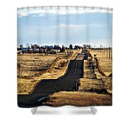 New Mexico Road Shower Curtain