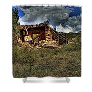 New Mexico Shack Shower Curtain