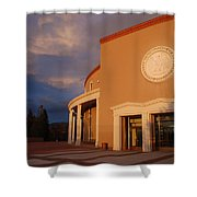New Mexico State Capital Building Shower Curtain
