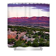 New Mexico Sunset Shower Curtain