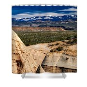 New Mexico Vista Shower Curtain