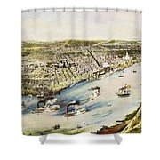 New Orleans, 1851 Shower Curtain by Granger