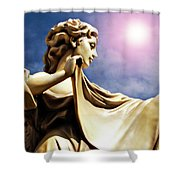 New Orleans Angel Shower Curtain