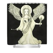 Love Spell Shower Curtain