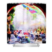 New Orleans Cafe Shower Curtain