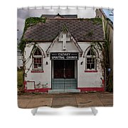 New Orleans Chapel Shower Curtain