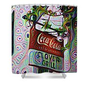 New Orleans - Clover Grill Shower Curtain