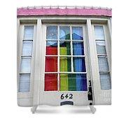 New Orleans Door 10 Shower Curtain