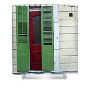 New Orleans Door 11 Shower Curtain