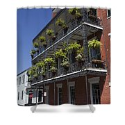 New Orleans French Quarter Shower Curtain