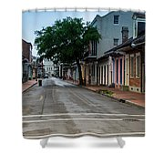 New Orleans French Quarter Special Morning Shower Curtain