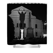 New Orleans Ghosts Shower Curtain