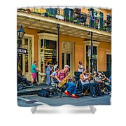 New Orleans Jazz 2 Shower Curtain