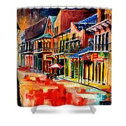 New Orleans Jive Shower Curtain