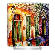 New Orleans Mystery Shower Curtain