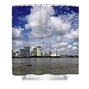 New Orleans Panoramic Shower Curtain
