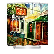 New Orleans Port Of Call Shower Curtain