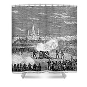 New Orleans: Riot, 1873 Shower Curtain